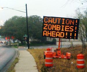 CORRECTION Zombies Ahead